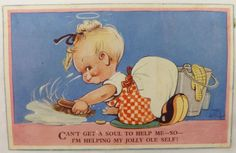 Original Valentine'S Mabel Lucie Attwell Postcard 754 | eBay