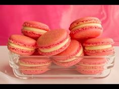 Video tutorial: Macarons paso a paso - YouTube