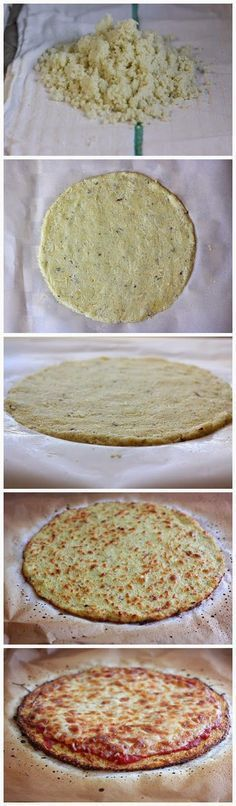 The BEST Cauliflower Crust Pizza!                                                                                                                                                                                 More