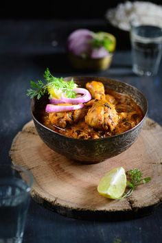 Methi murg or Fenugreek Chicken is a delicious chicken curry with fresh fenugreek leaves in it.