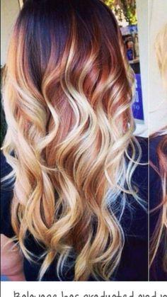 Red n blonde