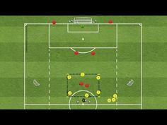 Playing in attacking half - Ages - Attack in the final third - breaking out into the attack from middle third of field - Improve passing, receiving, drib. Football Workouts, Football Drills, Soccer Practice, Soccer Training, Finals, Coaching, Construction, Watches, Soccer Drills