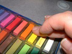 comment utiliser les pastels secs - tewee