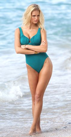Bikini-Clad Erin Heatherton Works Her Sexiest Poses For VS