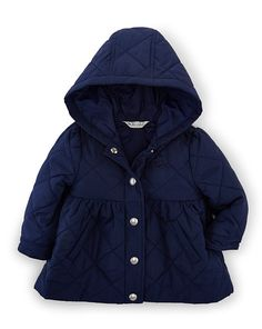 Quilted Hooded Barn Jacket - Baby Girl Outerwear & Jackets - RalphLauren.com