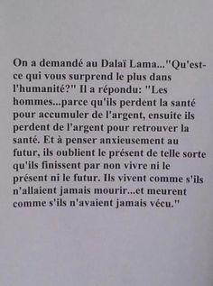 Dalaï Lama: à méditer en urgence ...