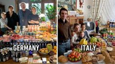 25 Photos Show How Much Families Around The World Spend On Food For A Week