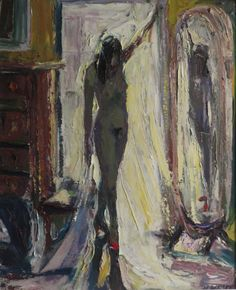 NANCY WHORF (1930-2009), The Red Shoes, 2000, Oil