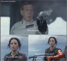 """Who are you?!""""You know who I am. But you probably didn't recognize me because of the red arm."""