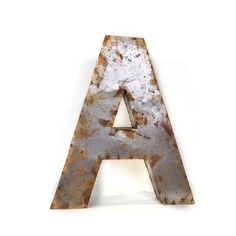 Watson & Co.: Tin Letter Medium A