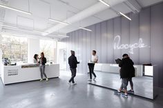 XML completed the design for a boutique fitness studio located in the center of Amsterdam. Rocycle is the first fitness studio in the Netherlands that combin...