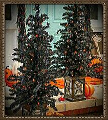 Outdoor Topiary Trees With Lights 35 boxwood artificial topiary tree uv resistant indooroutdoor black outdoor topiary trees with orange lights in urnimage courtesy of homedepot workwithnaturefo