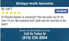 Dr Pamela Dasher is amazing!!! She has been my Dr for over 10 yrs. My husband and I both...