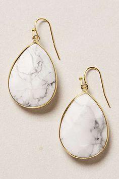 Anthropologie - Gold Rung Earrings
