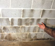 How to paint basement walls how to paint cinder blocks - Sealing exterior cinder block walls ...