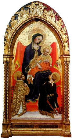Gentile da Fabriano madonna-with-child,-st-lawrence-and-st-julian-