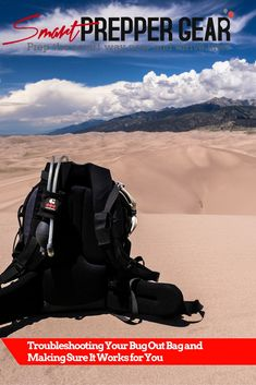 Troubleshooting Your Bug Out Bag and Making Sure it Works for You (Guest Post) http://www.smartpreppergear.com/troubleshooting-bug-bag-making-sure-works/