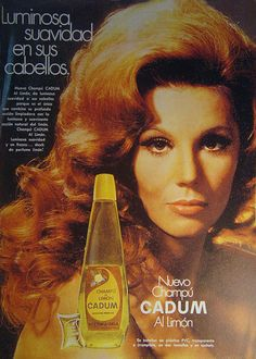 Cadum Champu (Argentina 1970s) -for that 70s Grand ole Opry star look