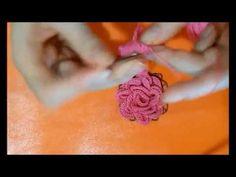 Como hacer flores de crochet o ganchillo