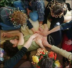 Creating/celebrating a Blessingway. 5 steps to develop a ritual to celebrate a woman's motherhood.