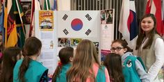 MakingFriends South Korea | World Thinking Day Ideas If your girls are representing South Korea for their GS World Thinking Day or International celebration we have SWAPs and other ideas for your troop.
