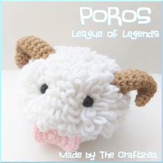 Poros from League of Legends created by The Craftzilla. Find out more at facebook.com/thecraftzilla