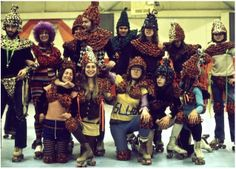 Evelyn Roth rollerderby costumes