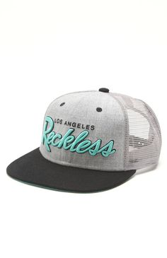 young and reckless og reckless trucker hat $26.50