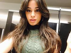 Camila Cabello's selfie
