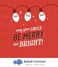 MAY YOUR SMILE BE merry and bright! In need of some fine tuning for your smile? Come see us today so we can help get you flashing those pearly whites!