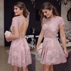 Vestido @murauoficial inteiro bordado!  Nem preciso dizer o tanto que eu amei né?