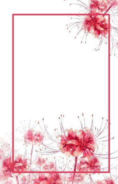 Flower Wallpaper, Galaxy Wallpaper, Wallpaper Backgrounds, Red Spider Lily, Background Drawing, Graphic Wallpaper, Anime Scenery, Fantasy Artwork, Flower Frame