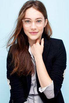Inspirações de como usar maquiagem pra quem usa óculos de grau!