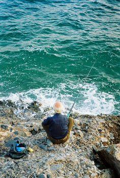 Aegean Sea Greek fisherman - classic