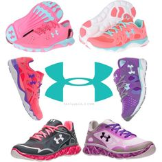 Under armour shoes Under armour shoes<br> A fashion look from March 2014 featuring lace up shoes, athletic shoes and mesh shoes. Browse and shop related looks. Sock Shoes, Cute Shoes, Me Too Shoes, Shoe Boots, Nike Under Armour, Under Armour Shoes, Armor Shoes, Workout Shoes, Workout Wear