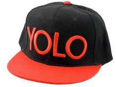 YOLO Hat (You Only Live Once) Snapback (Red) null,http://www.amazon.com/dp/B00ADSRJGM/ref=cm_sw_r_pi_dp_0ugasb1WCQY1ZE00