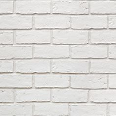 Colours White Faux Brick Textured Wallpaper | Departments | DIY at B&Q