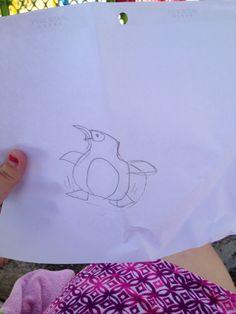 Jackson's penguin Jackson's Art, 8 Year Olds, Penguins, Fictional Characters, Penguin, Fantasy Characters