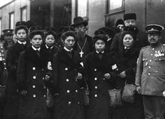 """Japanese """"Red Cross"""" in Moscow during the First World War. Russia 1914. [1280 x 932]"""