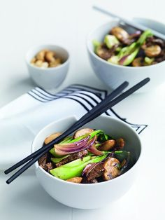 From baby bok choy to wombok, Asian greens offer a whole new world of tastes and textures. Combined with iron-rich beef, this is a healthy meal sure to impress the fussiest of eaters.