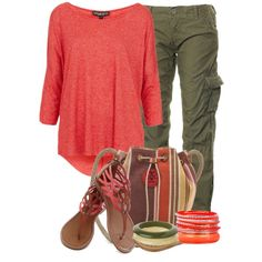 """Military Pants"" by elenh2005 on Polyvore"