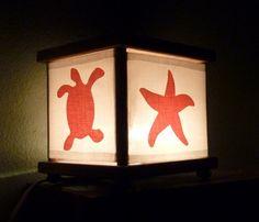 Under the Sea Night Light Ocean Sea Turtle Seahorse by babymamma1, $23.00