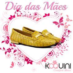 Vai dizer que você e a Mamãe não merecem esse #conforto ? #koquini #comfortshoes #euquero #mocassim by #wirth Compre Online: http://koqu.in/1Nek77V