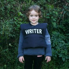 amelie and atticus castle writer and police vest tutorial - Halloween Bullet Proof Vest