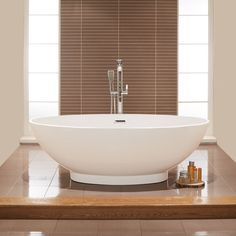 The Oval 1680 x 800mm Double Ended Bath is the perfect addition to your bathroom if you are looking for elegance and luxury.