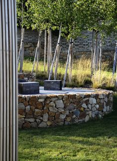 Garden and Landscape Architecture Studio Počaply garden Provence Garden, Garden Stones, Landscape Architecture, Farmhouse, Outdoor Structures, Studio, Plants, Modern Gardens, Office Spaces