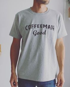 PENT HOUSE (@penthouse_aomr) on Instagram: Grey Pocket Tee #coffeemangood #ペントハウス