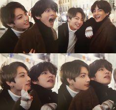 Jungkook and Taehyung [V] Taekook, Bts Taehyung, Bts Bangtan Boy, Jimin, Yoonmin, Foto Bts, Kpop, Bts Pictures, Photos
