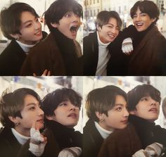 Jungkook and Taehyung [V] Taekook, Bts Lockscreen, Foto Bts, Bts Taehyung, Bts Bangtan Boy, Bts Pictures, Funny Photos, Kpop, V Bts Cute