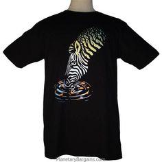 Forest Zebra Shirt $19.99